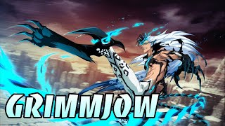 Grimmjow (Kitty Meow Meow Mix Ver.) CFYOW Review 130% SP & 186% Atk Builds Bleach Brave Souls