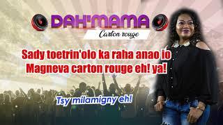 DAH'MAMA CARTON ROUGE lyrics