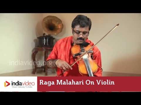 Raga Series - Raga Malahari on Violin by Jayadevan