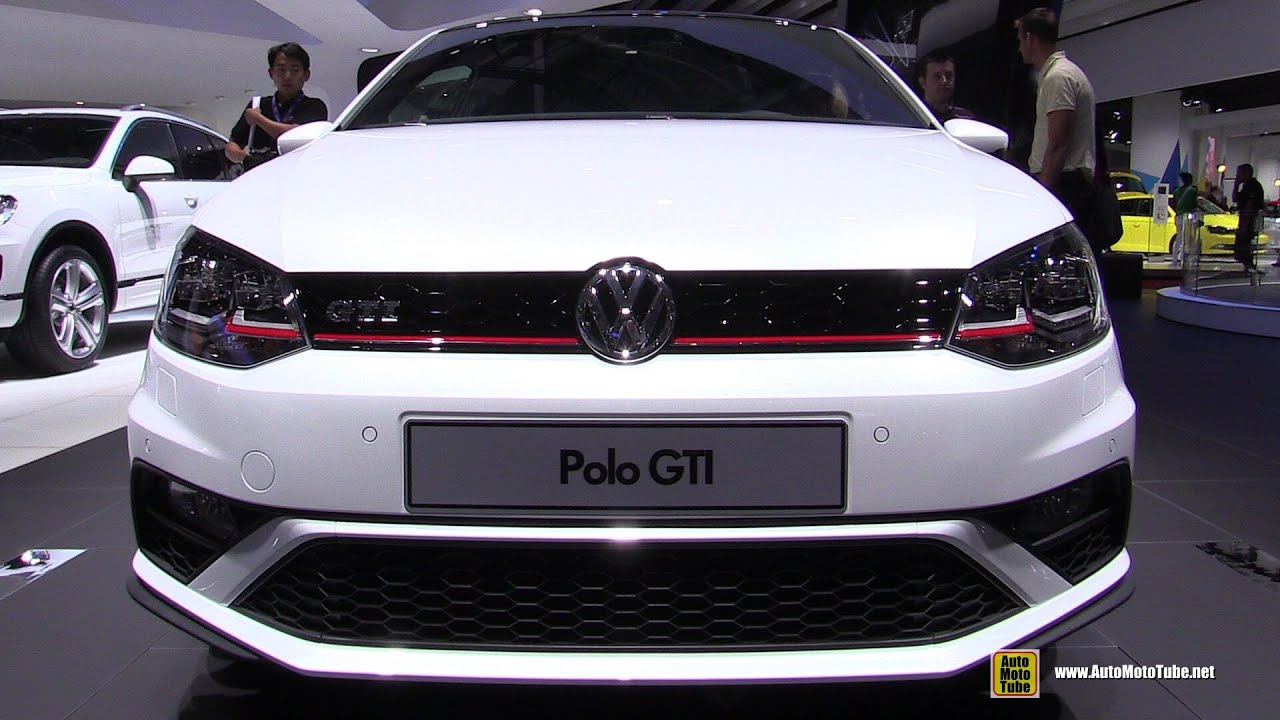 2015 volkswagen polo gti exterior and interior walkaround debut at 2014 paris auto show. Black Bedroom Furniture Sets. Home Design Ideas