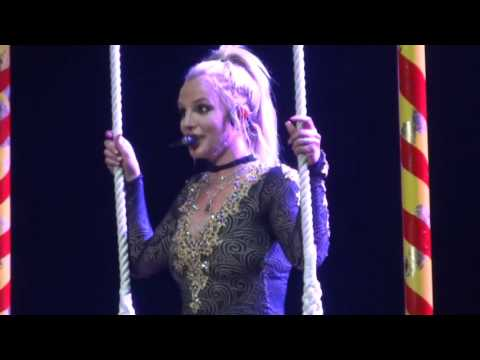 HD Britney Spears - Lucky - Piece of me Vegas - December 28 2015
