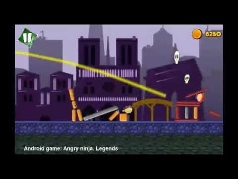 Angry ninja. Legends (Free) - Android game
