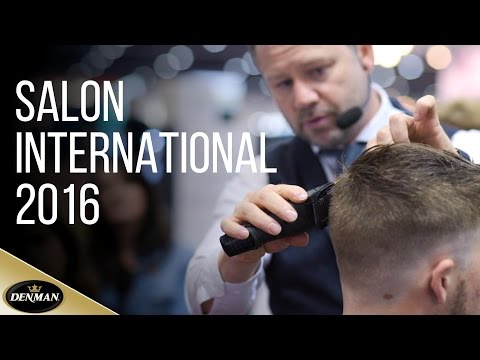 The demos, the products, & the creativity of Denman @Salon International 2016