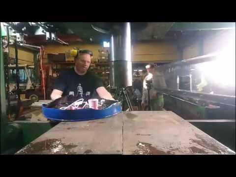 First hydraulic press channel live stream