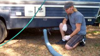 How to Empty an RV Septic System
