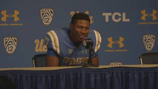 UCLA Football Postgame Players - 11.17.18