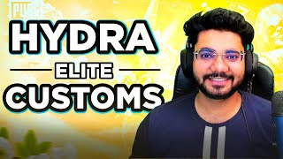 🔴H¥DRA | Alpha! - BACK WITH H¥DRA ELITE CUSTOMS! 🤩 || DAY 1  || PUBG MOBILE! 🤯