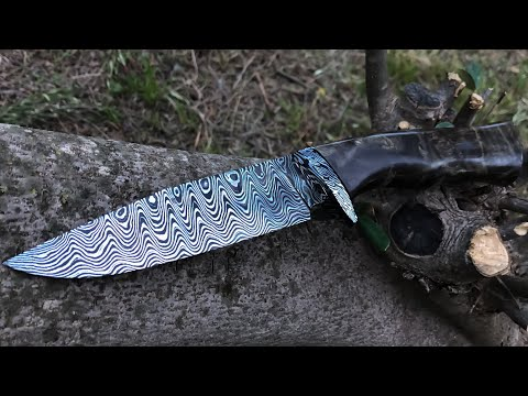Knifemaking: Hand Forging Damascus Knife