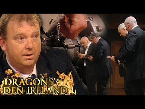 Kevin's Nifty Gizmo Turns The Dragons Into 12 Year Old Boys! | Dragons' Den IRL