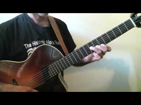 Frank Vignola Guitar Lessons - If I Had You Chord Melody Performance Tempo