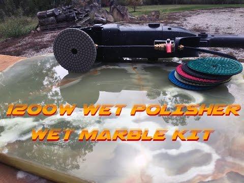 1200W Wet Polisher - Marble Polishing