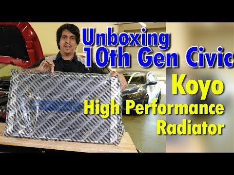 Koyo Radiator Spotlight: 10th Gen Honda Civic 2016 2017 2018 2019