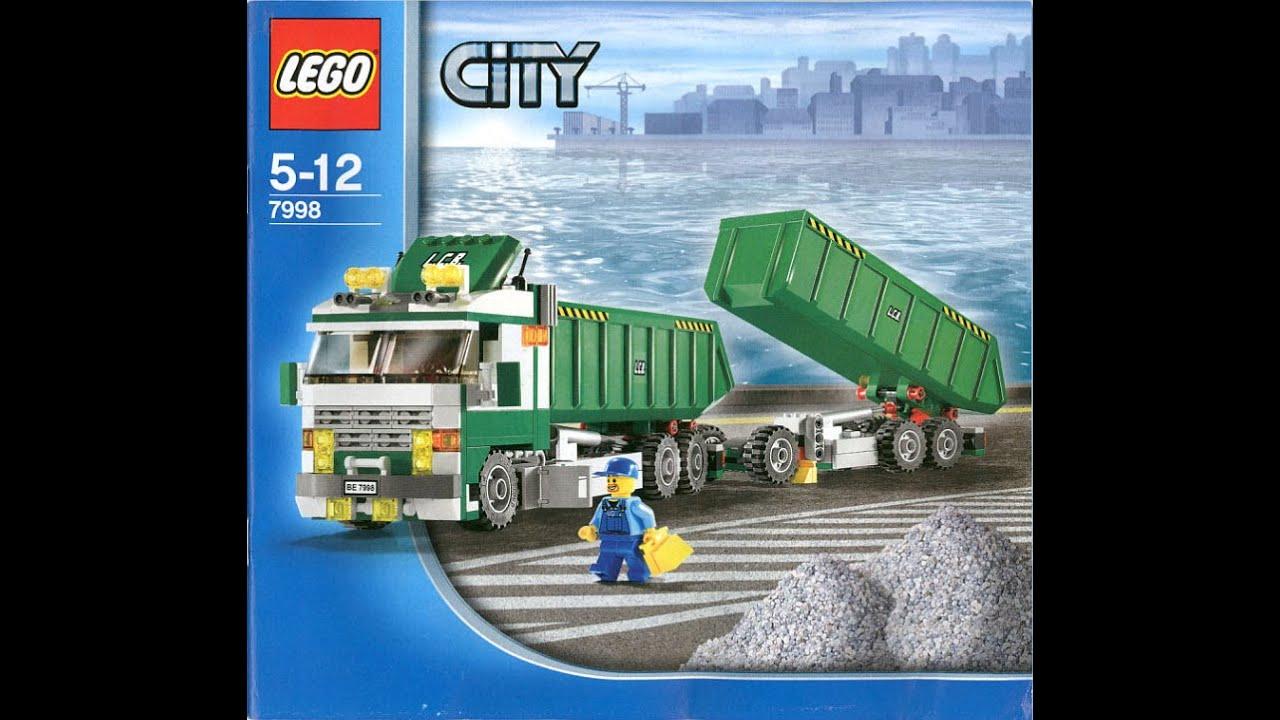 Lego 7998 City Heavy Hauler Instruction Manual Youtube