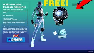 HOW TO UNLOCK NEW *BREAKPOINT PACK* FOR FREE! FORTNITE BREAKPOINT GIVEAWAY!