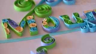 DIY Paper Quilling ideas and designs