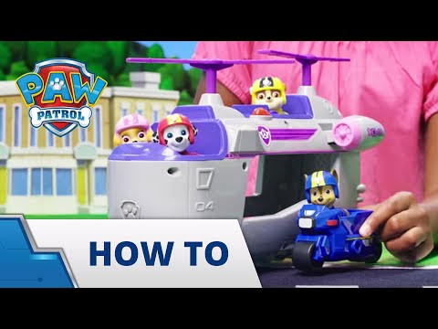 PAW Patrol | How To: Skye's Ultimate Helicopter!