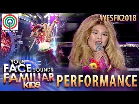 Your Face Sounds Familiar Kids 2018: Chunsa Jung as Shakira | Waka Waka