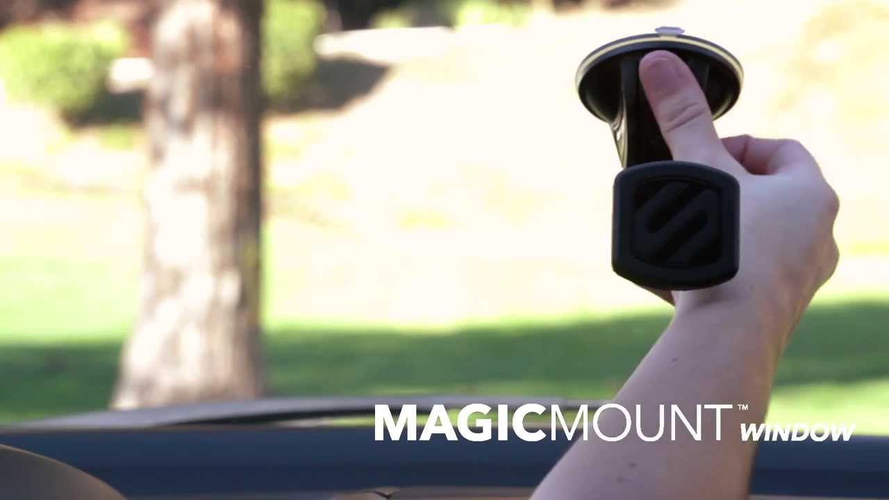 SCOSCHE MAGDM MagicMount Universal Magnetic Phone//GPS Mount for the Car Home or Office