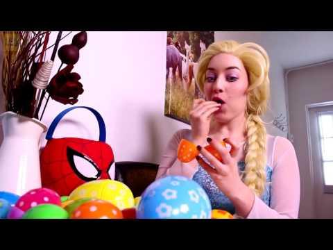 Frozen Elsa & Spiderman Popcorn Prank! W/ Pink Spidergirl, T-Rex - Godzilla & Joker! Superhero Movie