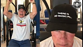 Arnold Schwarzenegger Is Wearing a Cool Hat To Put The Vitamin-S Accusers To Rest