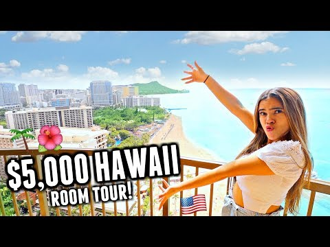 WE GOT UPGRADED!🌅🌺🌊 Hilton Hawaiian Village Presidential Suite Hotel Room Tour!