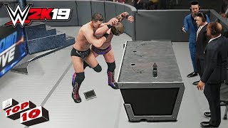 WWE 2K19 Top 10 Extreme Skull Crushing Finales!