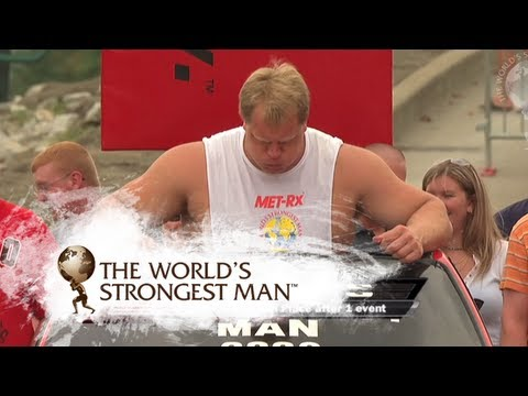 2008 Car Walk: Phil Pfister | World's Strongest Man