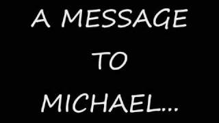 We love you Michael!