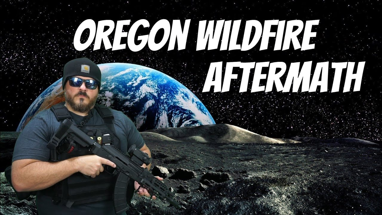 Oregon wildfire aftermath...