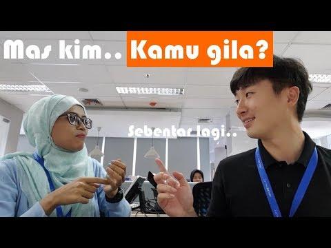 bahasa korea - kamu gila?