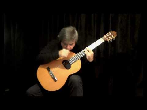 BECAUSE ( The Beatles) classical guitar by Carlos Piegari