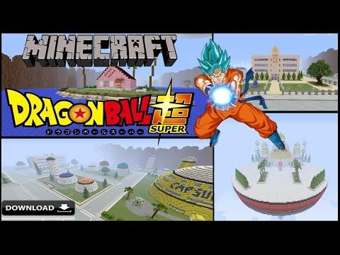 minecraft dragon ball z map download