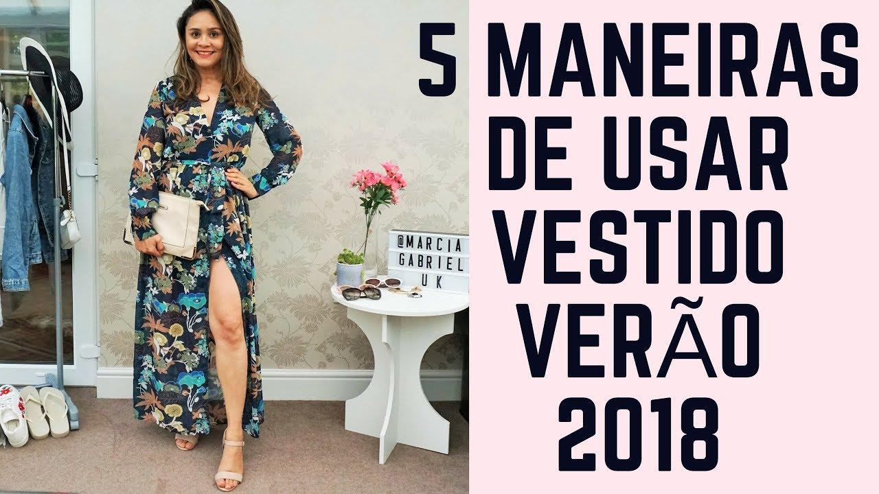 Vestidos primavera verao 2018 c&a