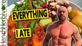 How I Get Ripped As A Vegan | What I Eat In A Day