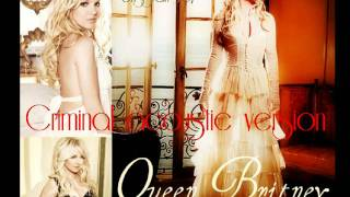 Britney Spears Criminal Acoustic Version y download link