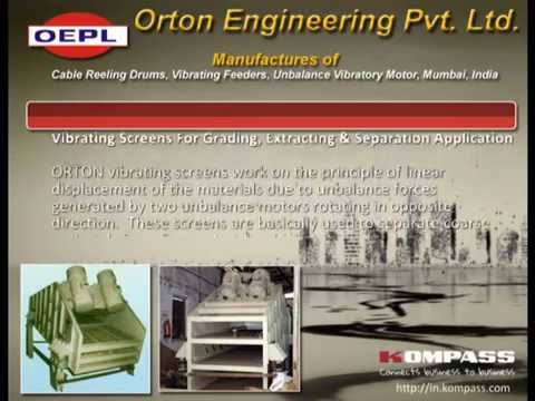 Orton Engineering | Manufactures of Cable Reeling Drums, Vibrating Feeders, Mumbai, India