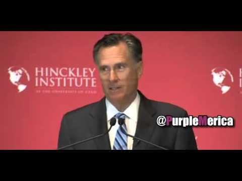 Mitt Romney Speech - Calls Donald Trump a Phony Fraud