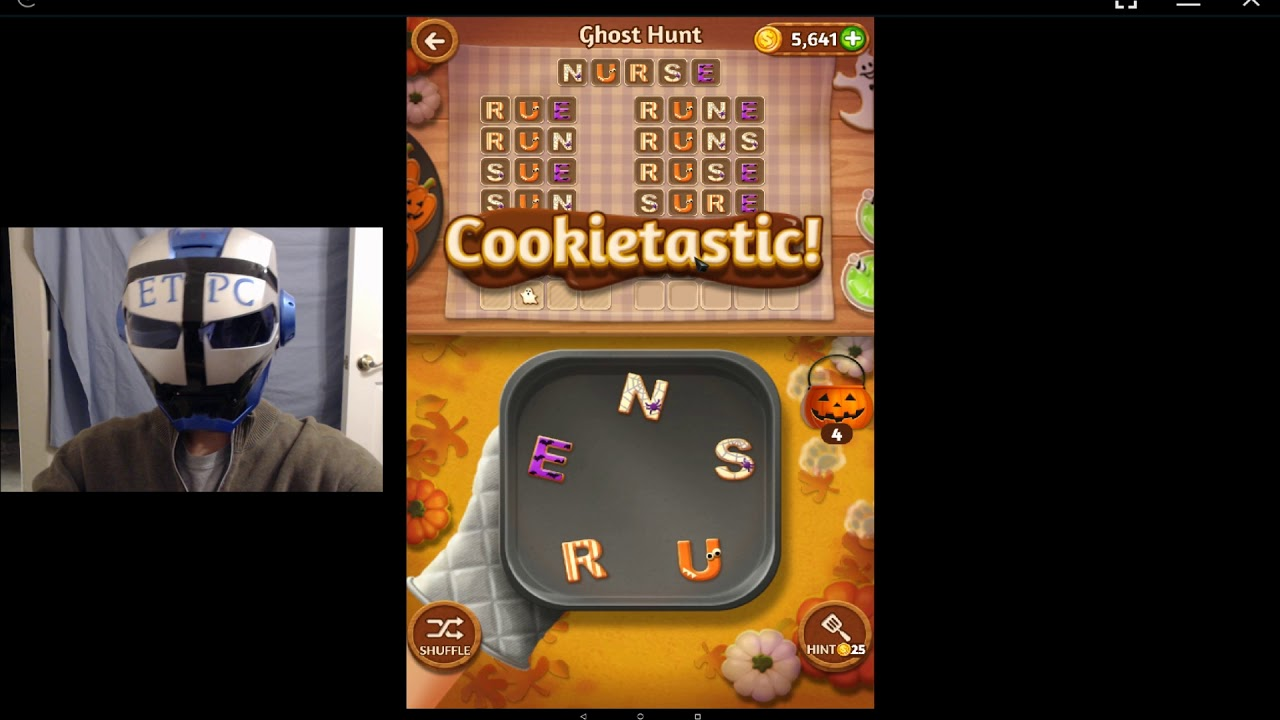 word cookies ghost hunt answers for tuesday october 31 youtube