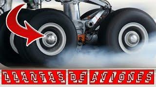 CURIOSIDAD ¿Porque no explotan las ruedas de los aviones al...