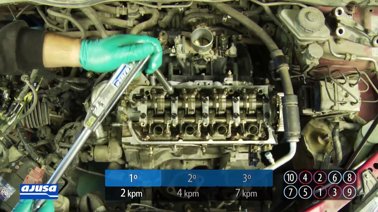 Cylinder Head Gasket Junta De Culata Honda Civic Youtube