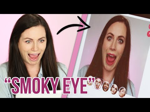 Women Try Augmented Reality Makeup