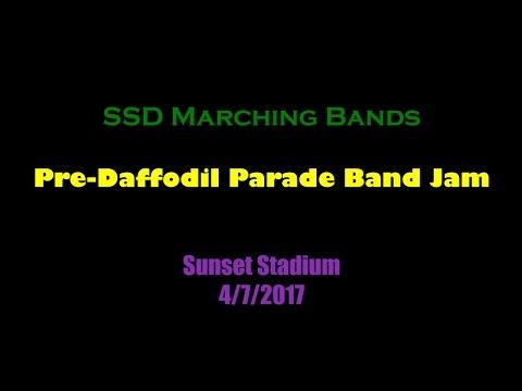 Pre-Daffodil Parade Band Jam 2017