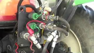 Ursus C385 z rozbudowaną hydrauliką