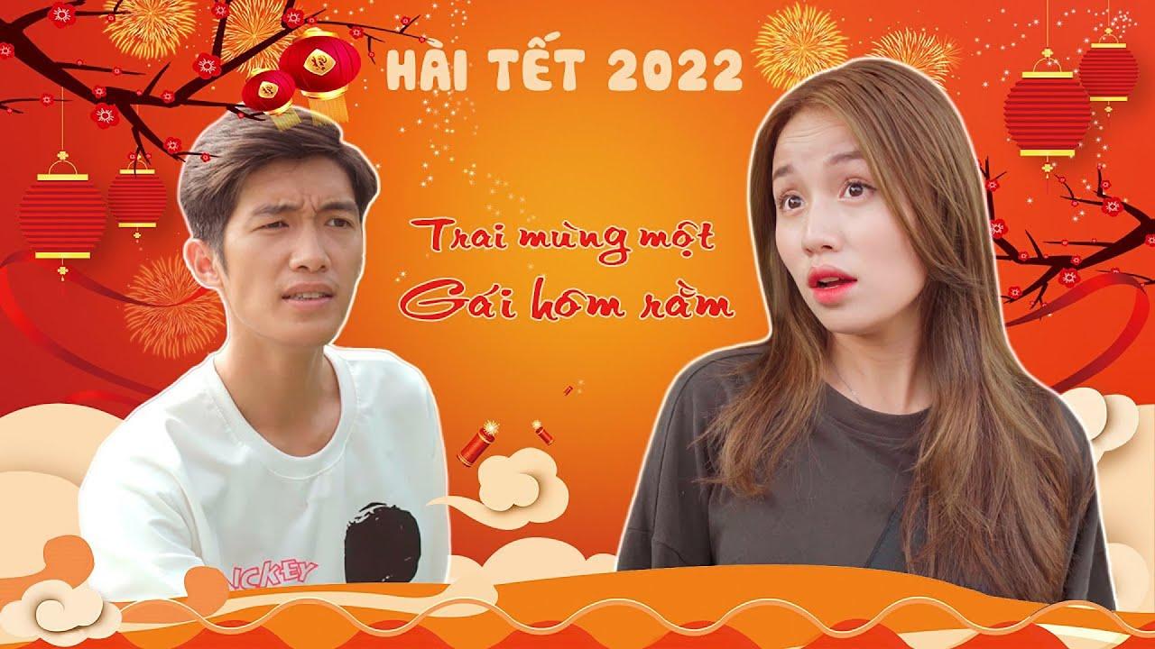 TRAI MÙNG MỘT GÁI HÔM RẰM | HÀI TẾT 2021 | Phim Hài Mới Nhất Gãy TV