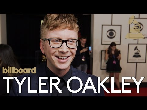 Tyler Oakley: The 2016 GRAMMY awards red carpet | Billboard ...