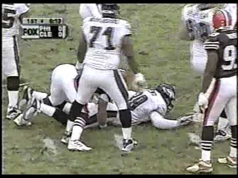 2000 Week 15 Eagles at Cleveland