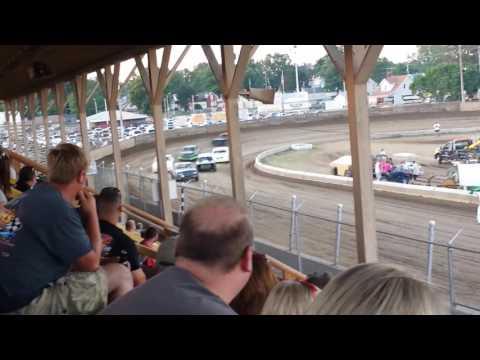 Belle Clair Speedway Street stock heat 6/17/16
