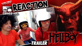 🎬 HELLBOY 2019 Reaction Trailer - Irmãos Piologo Filmes