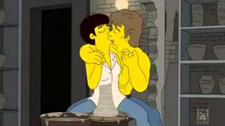 The Simpson - EXTRAIT amour - Saison 21 / Episode 15 : Baisé volé