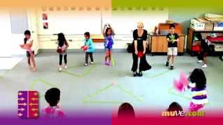 Dance activity games for groups - MUVE - the physical exercise kids like